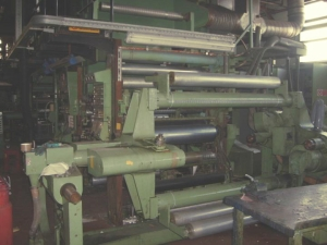 ROTOMEC EXTRUSION LAMINATOR  -  Model: EC320