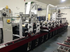 Mark Andy LP3000 Label Press