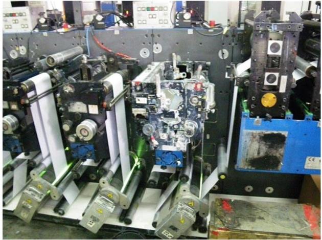 Gallus EM280 - 10 Colour Press