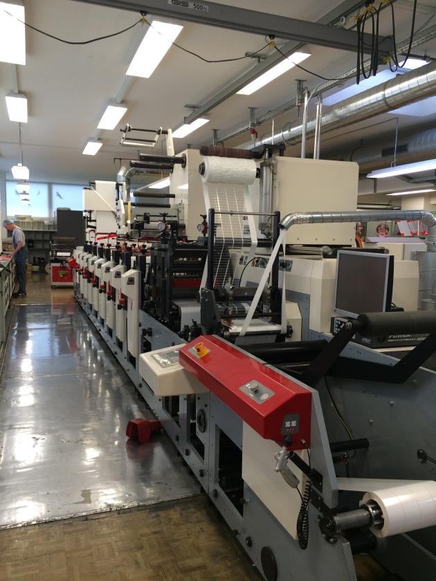 MPS EF330 8 Colour Press