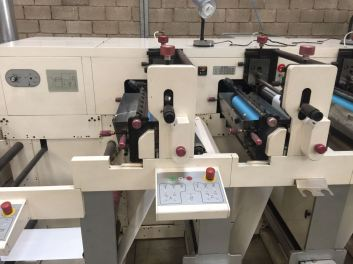 Nilpeter FB2500 6 Colour Label Press